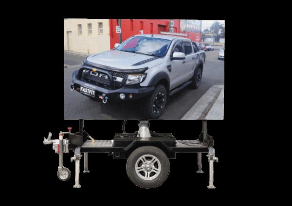 mobile LED trailer hire