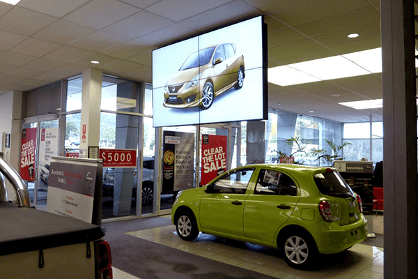 In-store Digital Signage